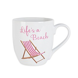 Everyday White® by Fitz and Floyd® Beach Chair Mug