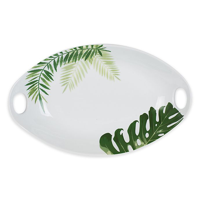 Alternate image 1 for Everyday White® by Fitz and Floyd® Palm Handled Serving Bowl