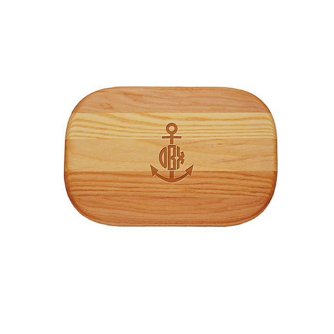 Alternate image 1 for Carved Solutions Anchor 10-Inch x 7-Inch Everyday Board