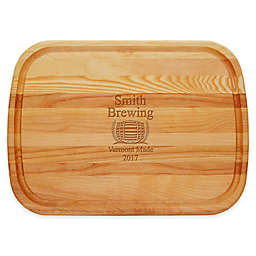 Carved Solutions Brewing 21-Inch x 15-Inch Everyday Board