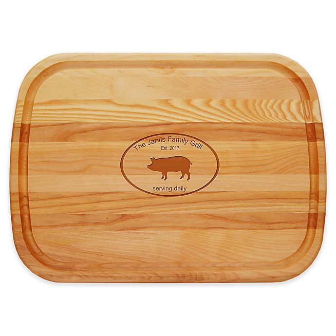 Alternate image 1 for Carved Solutions Family Grill 21-Inch x 15-Inch Everyday Cutting Board
