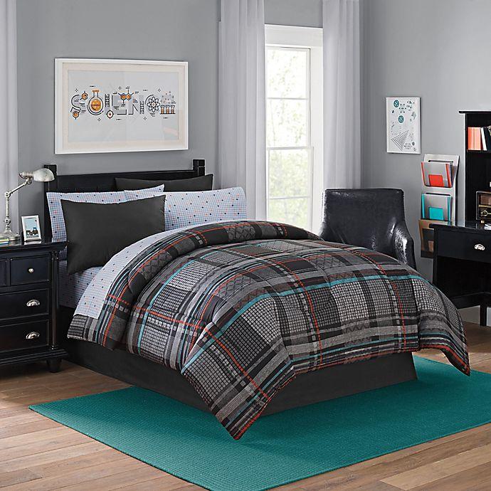 Alternate image 1 for Landon 8-Piece Full Comforter Set