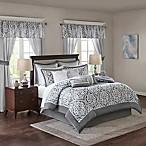 Madison Park Essentials Jordan 24-Piece King Comforter Set in Grey