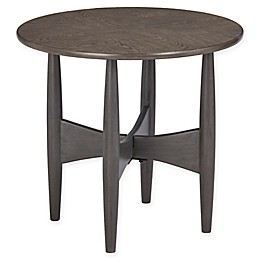 INK+IVY® Ellipse End Table in Oak