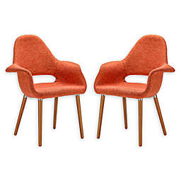 Poly And Bark Dining Wood Chairs (Set of 2)