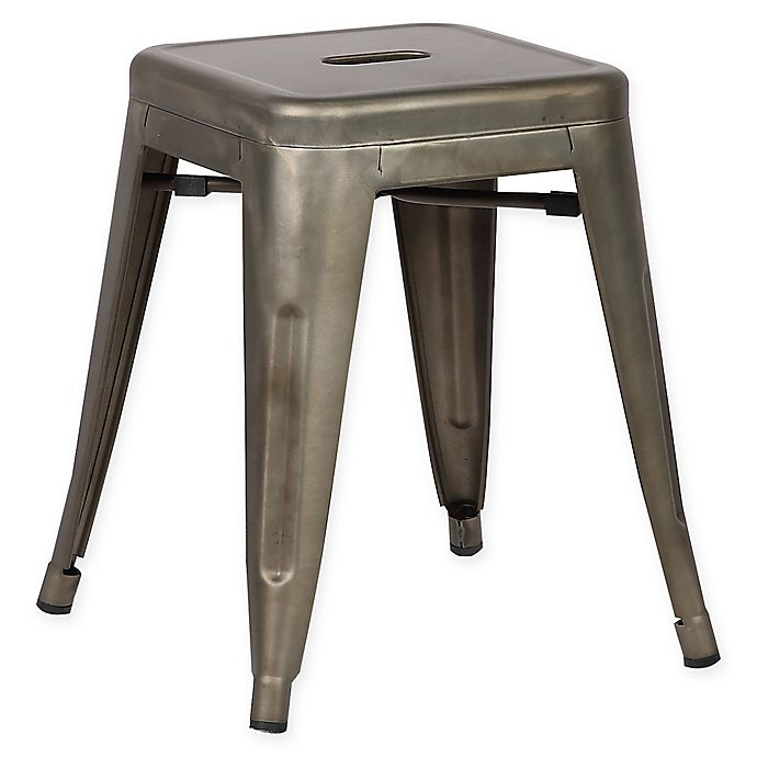 Alternate image 1 for Poly and Bark Trattoria 18-Inch Stool in Bronze