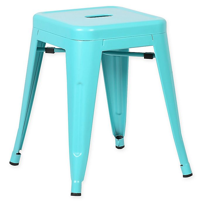 Alternate image 1 for Poly and Bark Trattoria 18-Inch Stool in Aqua