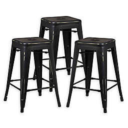 Tremendous 3 Piece Set Bar Stools Counter Stools Bed Bath Beyond Gamerscity Chair Design For Home Gamerscityorg
