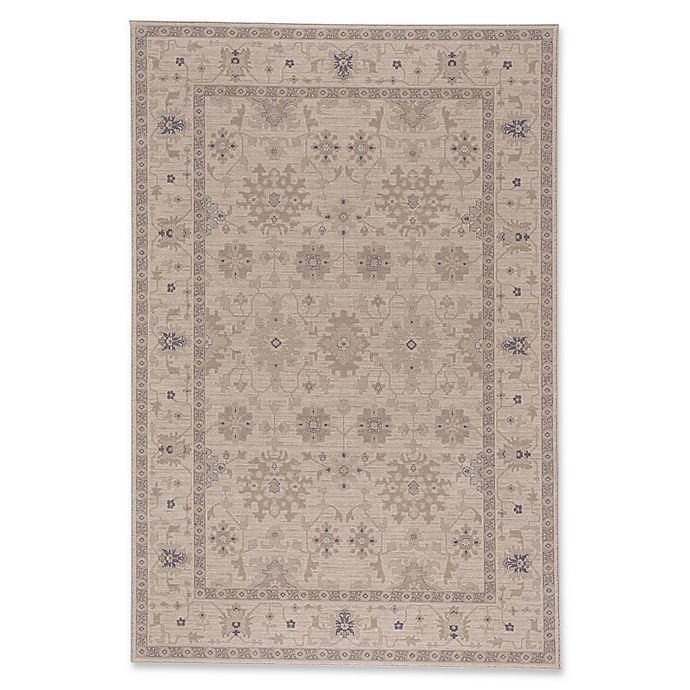 Alternate image 1 for Capel Rugs Municipality-Ushak 7-Foot 10-Inch x 11-Foot Area Rug in Blue