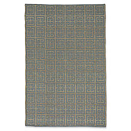 Capel Rugs Williamsburg Chateau 9-Foot x 12-Foot Area Rug in Blue