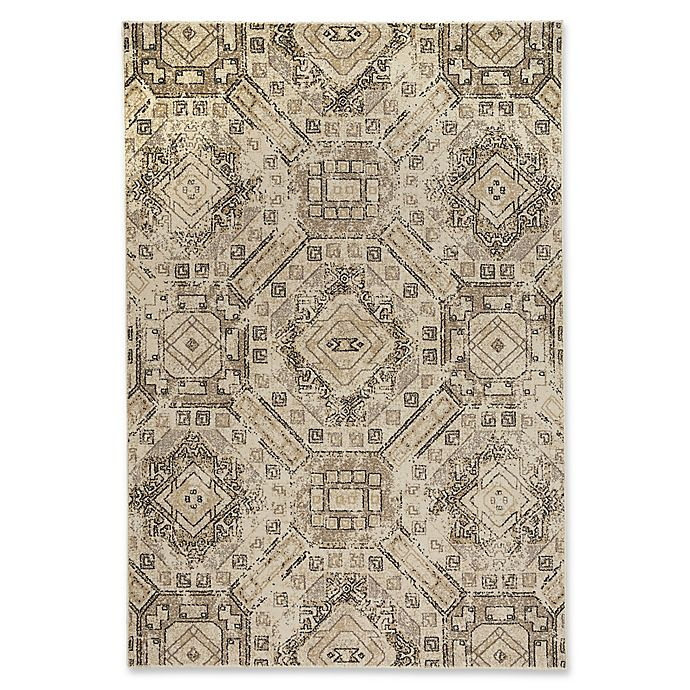 Alternate image 1 for Capel Rugs Channel 3-Foot 11-Inch x 5-Foot 6-Inch Area Rug in Beige