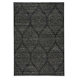 Capel Rugs Channel 3-Foot 11-Inch x 5-Foot 6-Inch Area Rug in Ebony Ash