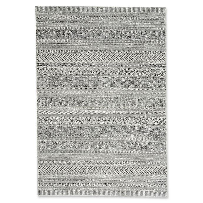 Alternate image 1 for Capel Rugs Channel 5-Foot 3-Inch x 7-Foot 6-Inch Area Rug in Nickel