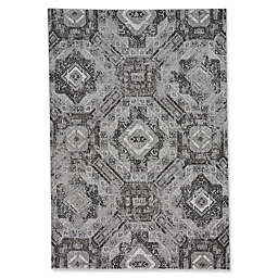 Capel Rugs Channel 7-Foot 10-Inch x 10-Foot 10-Inch Area Rug in Tin