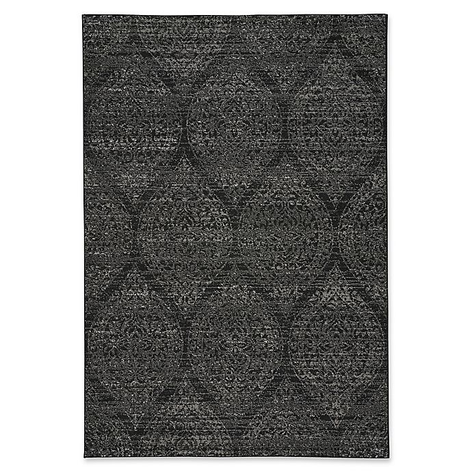 Alternate image 1 for Capel Rugs Channel 7-Foot 10-Inch x 10-Foot 10-Inch Area Rug in Ebony