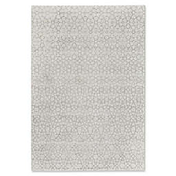 Capel Rugs Channel 9-Foot 2-Inch x 12-Foot 5-Inch Area Rug in Silver