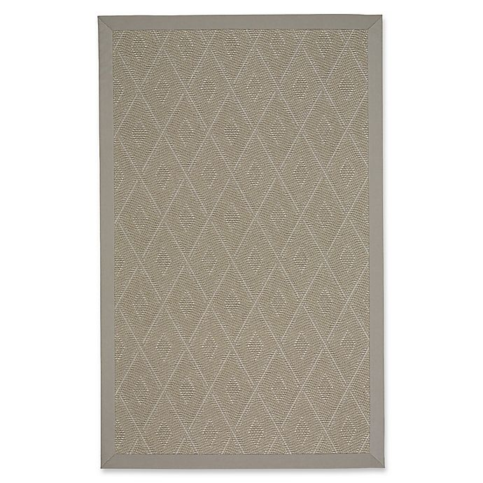 Alternate image 1 for Capel Rugs Llano Silver Mist 2-Foot x 3-Foot Indoor/Outdoor Accent Rug in Tan