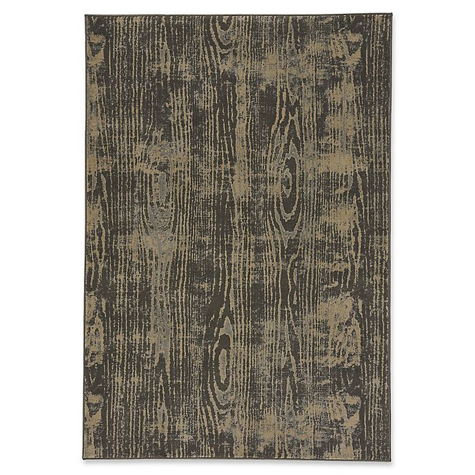 Alternate image 1 for Capel Rugs Kevin O'Brien Thicket 5-Foot 3-Inch x 7-Foot 6-Inch Area Rug in Coal