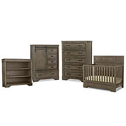 Westwood Design Foundry Nursery Furniture Collection in Brushed Pewter