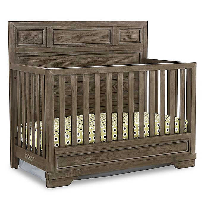 Westwood Design Foundry 4 In 1 Convertible Crib In Brushed Pewter