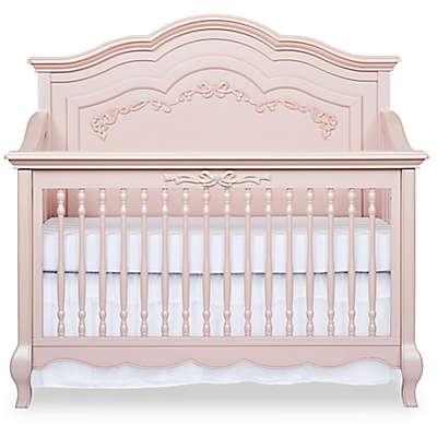 evolur™ Aurora 5-in-1 Convertible Crib in Blush Pink