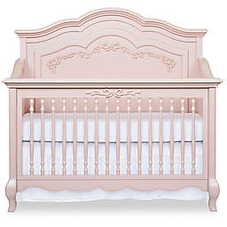 evolur™ Aurora 5-in-1 Convertible Crib in Blush Pink