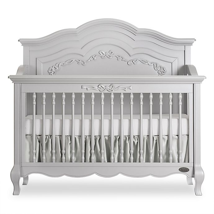 Alternate image 1 for evolur™ Aurora 5-in-1 Convertible Crib in Akoya Grey Pearl