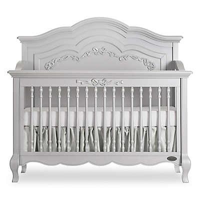 evolur™ Aurora 5-in-1 Convertible Crib in Akoya Grey Pearl