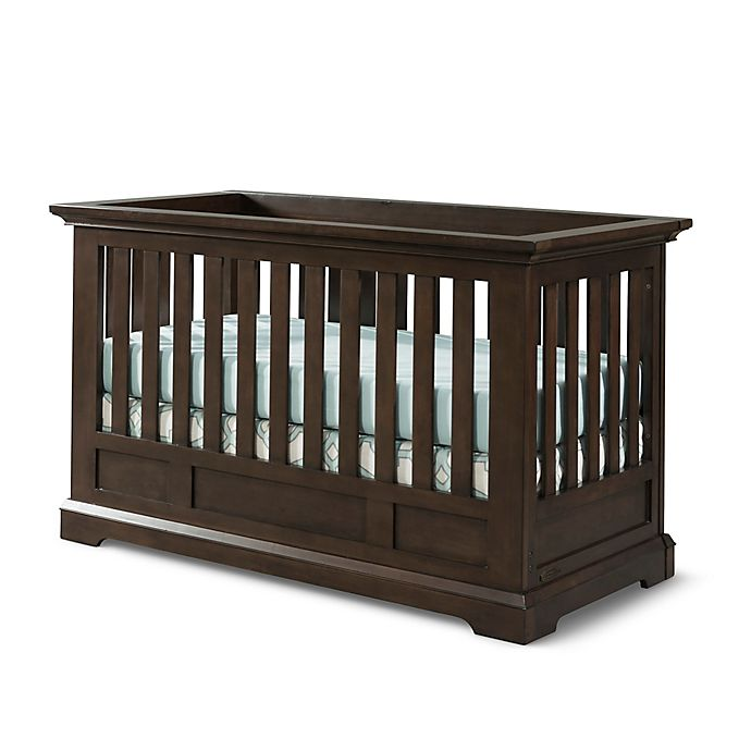 Alternate image 1 for Child Craft™ Devon 4-in-1 Euro Convertible Crib in Slate