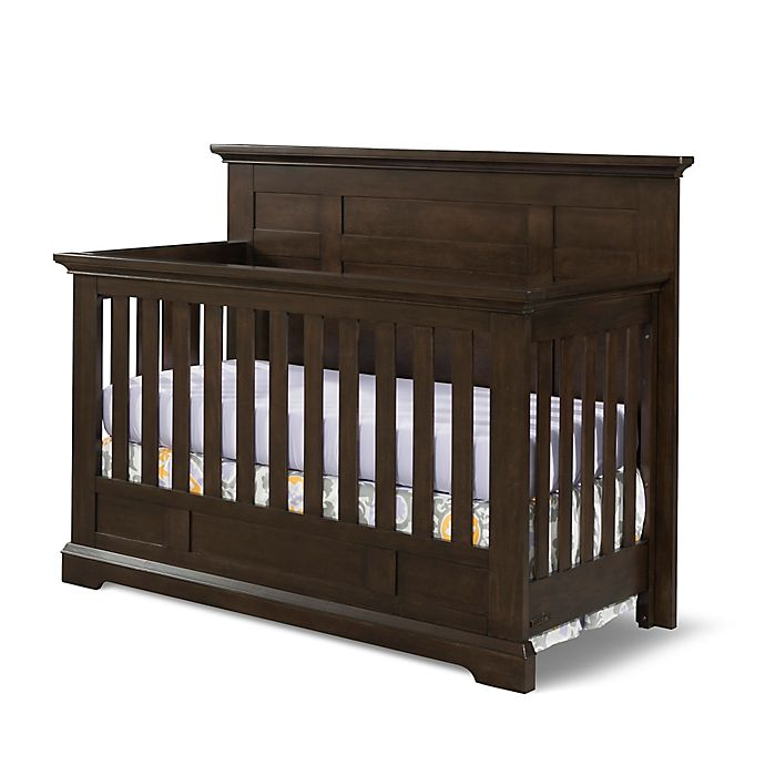 Alternate image 1 for Child Craft™ Devon 4-in-1 Flat Top Convertible Crib in Slate