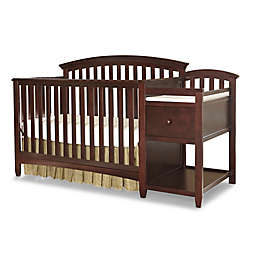 Westwood Design Montville 4 In 1 Convertible Crib And Changer Combo Chocolate Mist