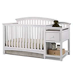 Imagio Baby by Westwood Designs Montville Collection 4-in-1 Crib and Changer in White