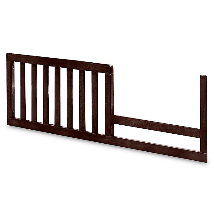 Alternate image 1 for Imagio Baby by Westwood Designs Montville Collection Toddler Guard Rail in Chocolate Mist