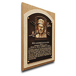 MLB Minnesota Twins Bert Blyleven That's My Ticket Hall of Fame Canvas Plaque