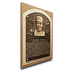 MLB St. Louis Bob Gibson That's My Ticket Hall of Fame Canvas Plaque