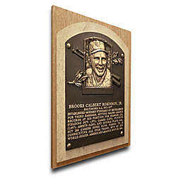 MLB Baltimore Orioles Brooks Robinson That's My Ticket Hall of Fame Canvas Plaque