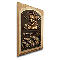 MLB Homestead Grays Buck Leonard That's My Ticket Hall of Fame Canvas Plaque