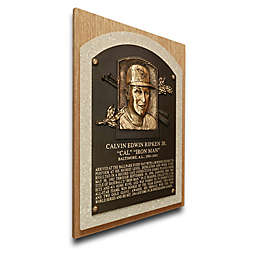 MLB Baltimore Orioles Cal Ripken Jr. That's My Ticket Hall of Fame Canvas Plaque