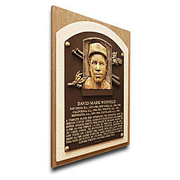 MLB San Diego Dave Winfield That's My Ticket Hall of Fame Canvas Plaque