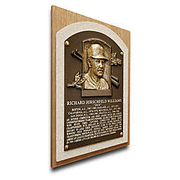 MLB Oakland Athletics Dick Williams That's My Ticket Hall of Fame Canvas Plaque