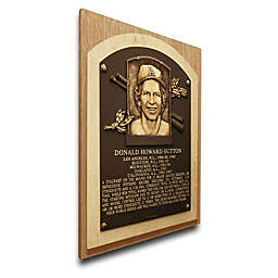 MLB Los Angeles Dodgers Don Sutton That's My Ticket Hall of Fame Canvas Plaque