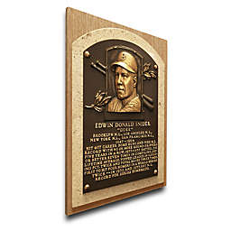 MLB Brooklyn Dodgers Duke Snider That's My Ticket Hall of Fame Canvas Plaque