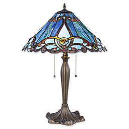 River of Goods Brandi Table Lamp in Blue