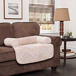 Innovative Textile Solutions Large Microfiber Waterproof Chair Protector with Bolster