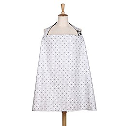 The Peanut Shell® Celeste Nursing Cover in Grey