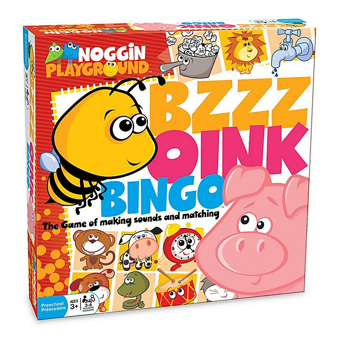Alternate image 1 for Noggin Playground Bzzz Oink Bingo Game
