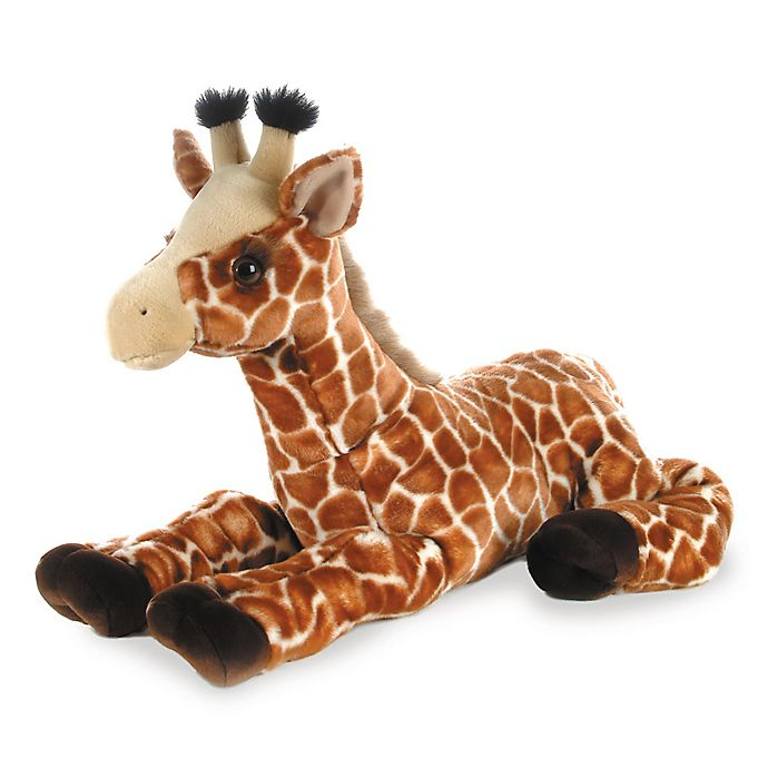 Alternate image 1 for Aurora World® Guy Giraffe Plush Toy in Brown