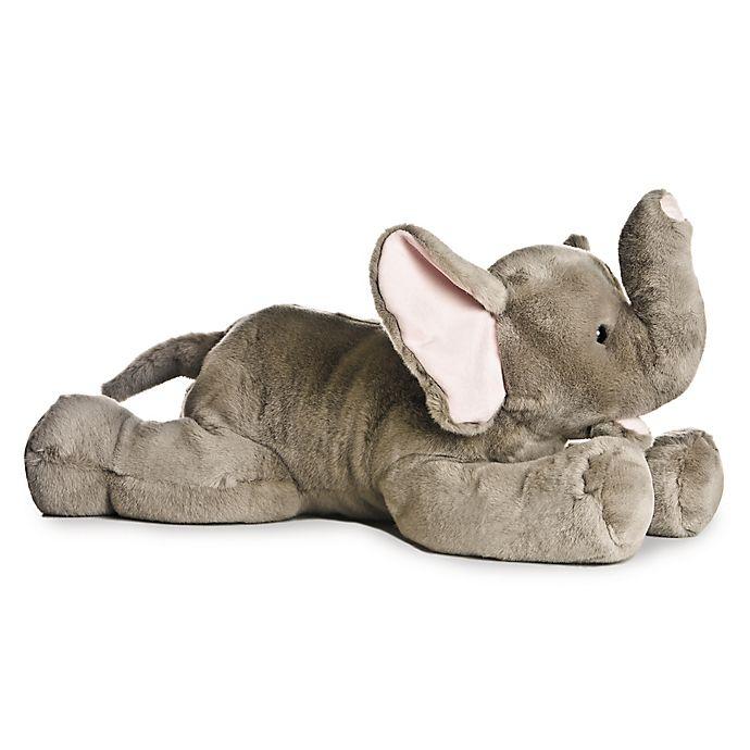 Alternate image 1 for Aurora World® Super Flopsies Super Ellie Elephant Plush Toy in Grey