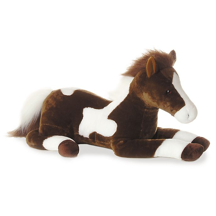 Alternate image 1 for Aurora® Paint Pony Plush Toy in Brown