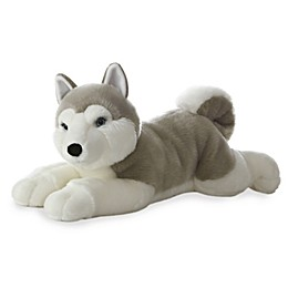 Aurora World® Super Flopsies Yukon Husky Plush Toy in Grey/White